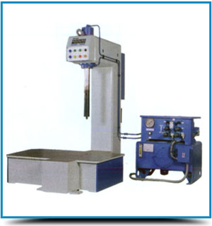 DEEP THROAT BRINELL HARDNESS TESTING MACHINES WITH FIXED TABLE