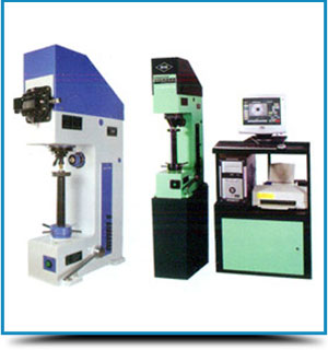 Vickers Cum Brinell Hardness Testing Machines